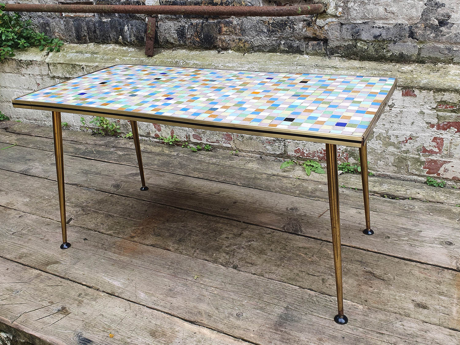 Junk Deluxe :: Mosaic Top Coffee Table